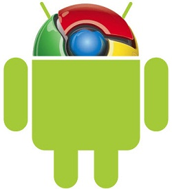 Chrome powered by Android