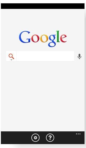 La Google Search App